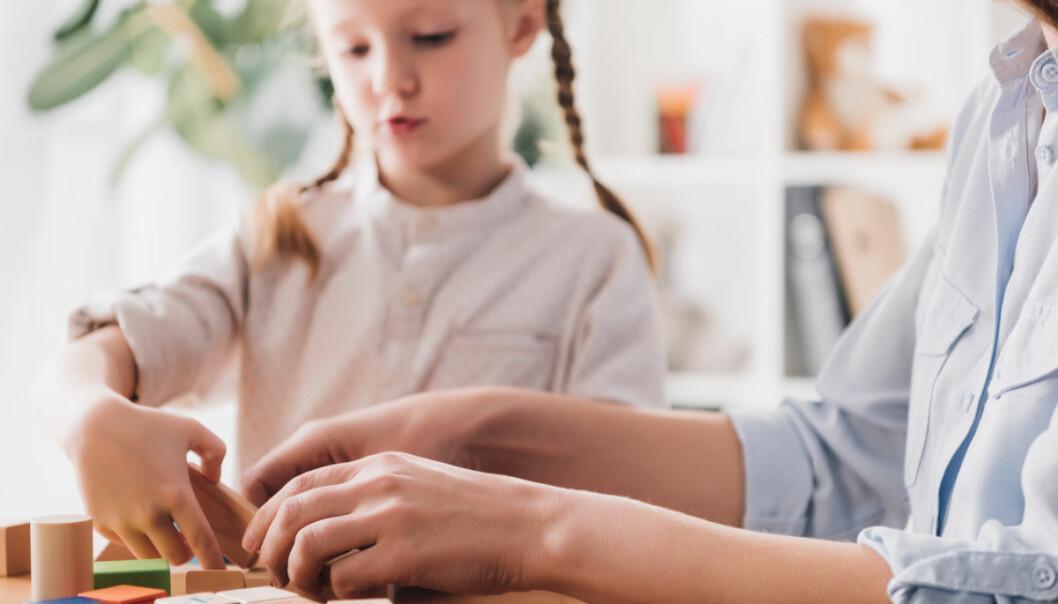 Sykehuset Innlandet skal arbeide med veiledning via video, i oppfølging av førskolebarn med autisme. (Illustrasjonsfoto: Colourbox)