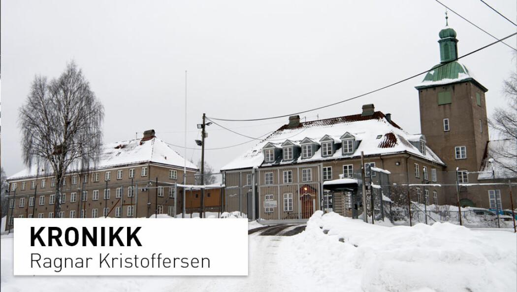 Bredtveit fengsel, forvarings- og sikringsanstalt er et landsdekkende fengsel for forvaringsdømte, domfelte og varetektsfengslete kvinner. (Foto: Mimsy Møller / Samfoto)
