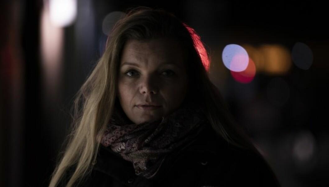 Lene Haugsdal fikk fødselsdepresjon kort tid etter barna var født (Foto: David Jensen)