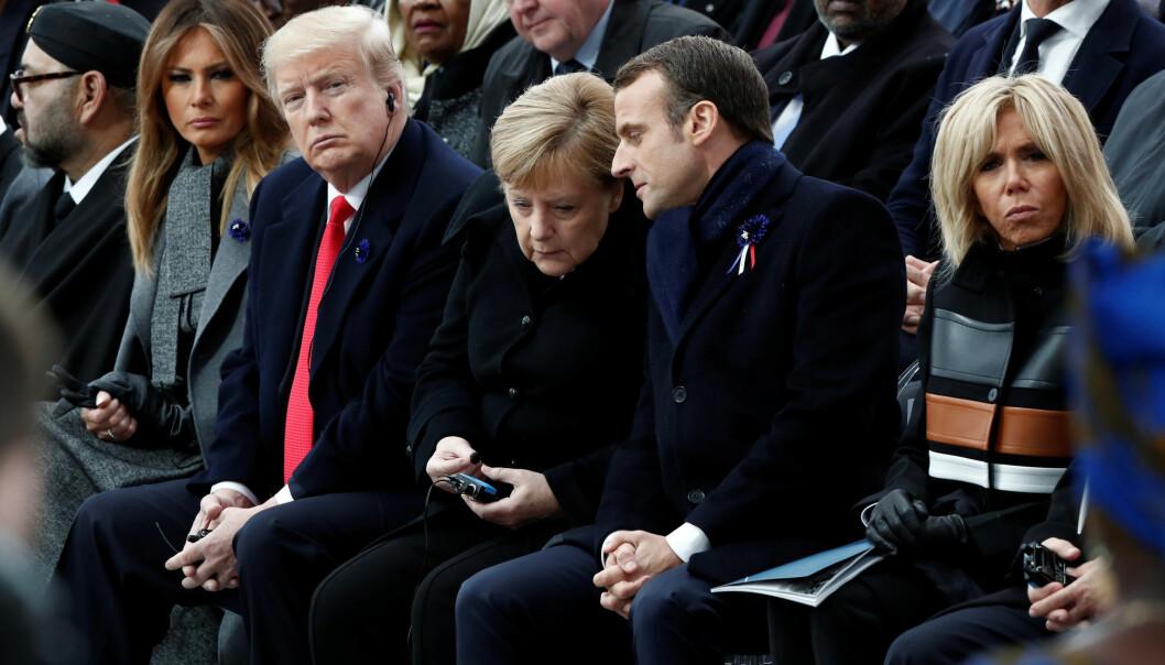 Ifølge forskere flyttet USA fokus vekk fra Europa og mot Asia allerede før Trump – og tidligere administrasjoner har satt spørsmålstegn ved hvor viktig forholdet til Europa egentlig er for USAs interesser. (Foto: Reuters / NTB Scanpix)