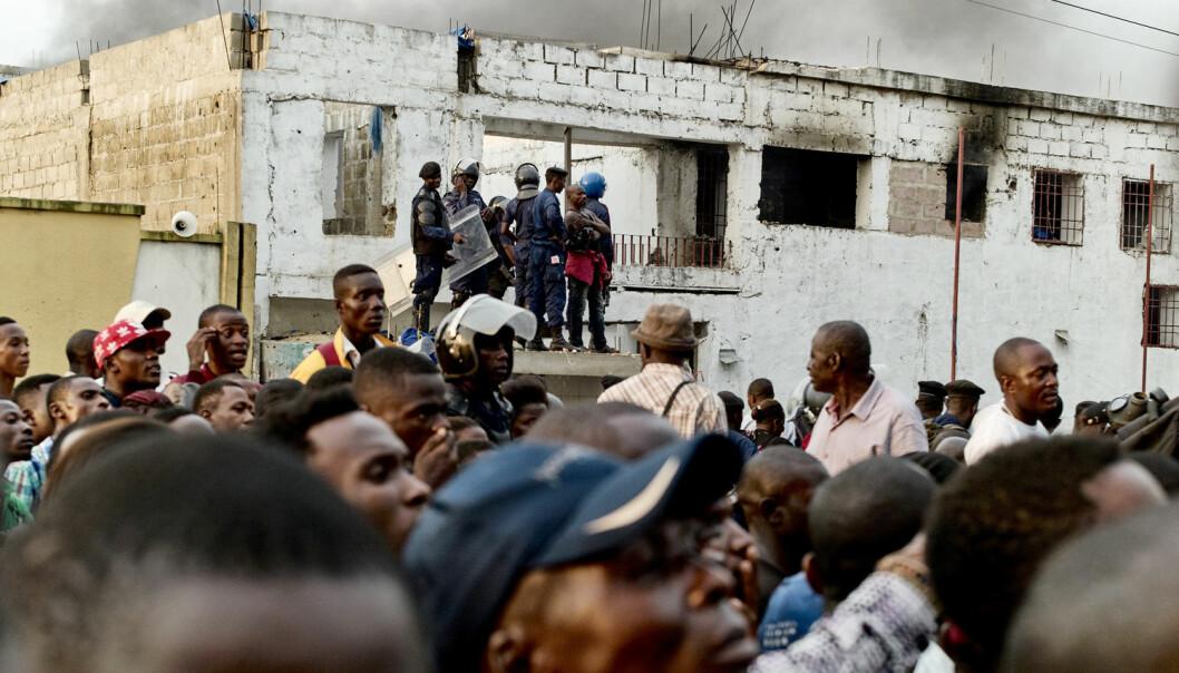 Sikkerhetsrådet har plassert ut fire stabiliseringsoppdrag, blant annet i Den demokratiske republikken Kongo. NUPI-forskere mener FN ikke bør utføre slike operasjoner fordi de ikke samsvarer med kjerneprinsippene for fredsbevaring. (Foto: Robert Carrubba / Reuters / NTB Scanpix)