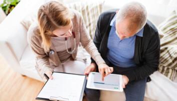 Kronisk syke fikk god hjelp fra leger via chat og Skype