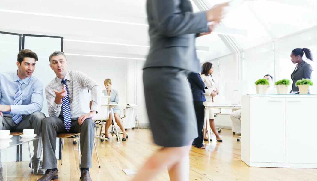 Tall fra Levekårsundersøkelsene til SSB viser at det i perioden 2003-2013 har vært en dobling av andelen som sier de har opplevd seksuell trakassering på jobben. Seksuell trakassering i arbeidslivet rammer først og fremst kvinner.  Yngre kvinner er særlig utsatt.   (Foto: Shutterstock / NTB scanpix)
