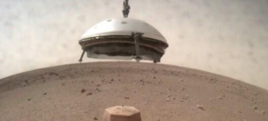 Nå er den klar til å bore i planeten Mars