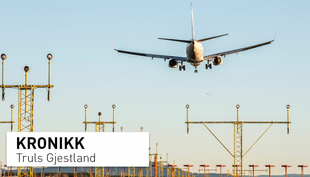 – Det er vanskelig å argumentere for at folk rundt Gardermoen er vesensforskjellig fra folk rundt flyplassene på Værnes og i Bodø, men likevel reagerer de svært forskjellig med hensyn på flystøyen, skriver kronikkforfatteren. (Foto: Paul Kleiven / NTB scanpix)