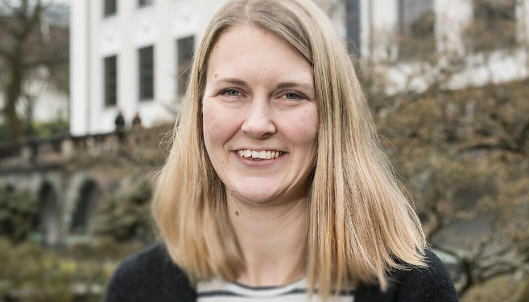 Katrine Vellesen Løken er nå i gang med et nytt forskningsprosjekt som skal se på de sosiale kostnadene av fengsel.  (Foto: Thor Brødreskift)