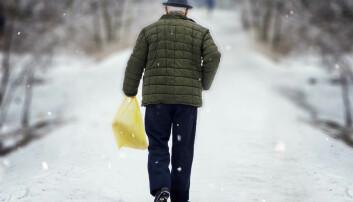 Eldre trenger ikke D-vitaminer utover det daglige behovet for å unngå fallulykker.  (Foto: Shutterstock / NTB scanpix)