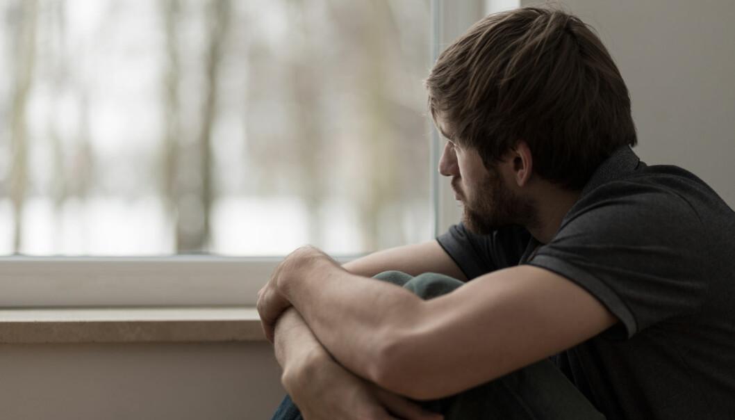 Depresjon økte risikoen for hjertesykdom og død like mye som fedme eller høyt kolesterol, men mindre enn høyt blodtrykk, røyking og diabetes, ifølge den nye studien. (Foto: Photographee.eu, Shutterstock, NTB scanpix)