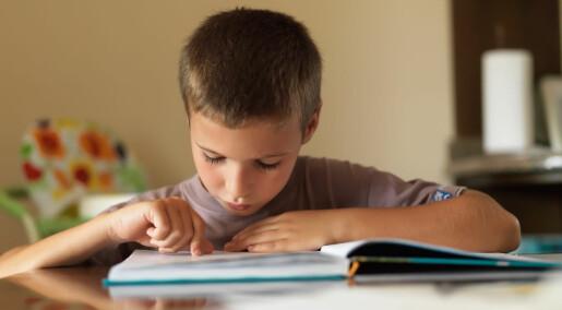 Dette kan du gjøre for at barnet ditt skal bli bedre til å lese