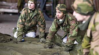 Endret soldatene mening da de fikk personlig kontakt med minoriteter?