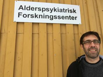 Overlege Tom Borza. (Foto: Sykehuset Innlandet)