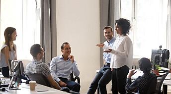 Ansatte trenger ikke en kommanderende sjef.Med teknologi kan de fint organisere seg selv