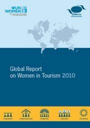 Verdens turismeorganisasjons raport : Gender and Tourism (Foto: UNWTO)