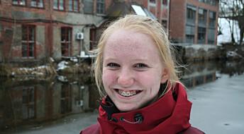 Ida Frøyland (13) er forskning.nos nye ungdomsreporter