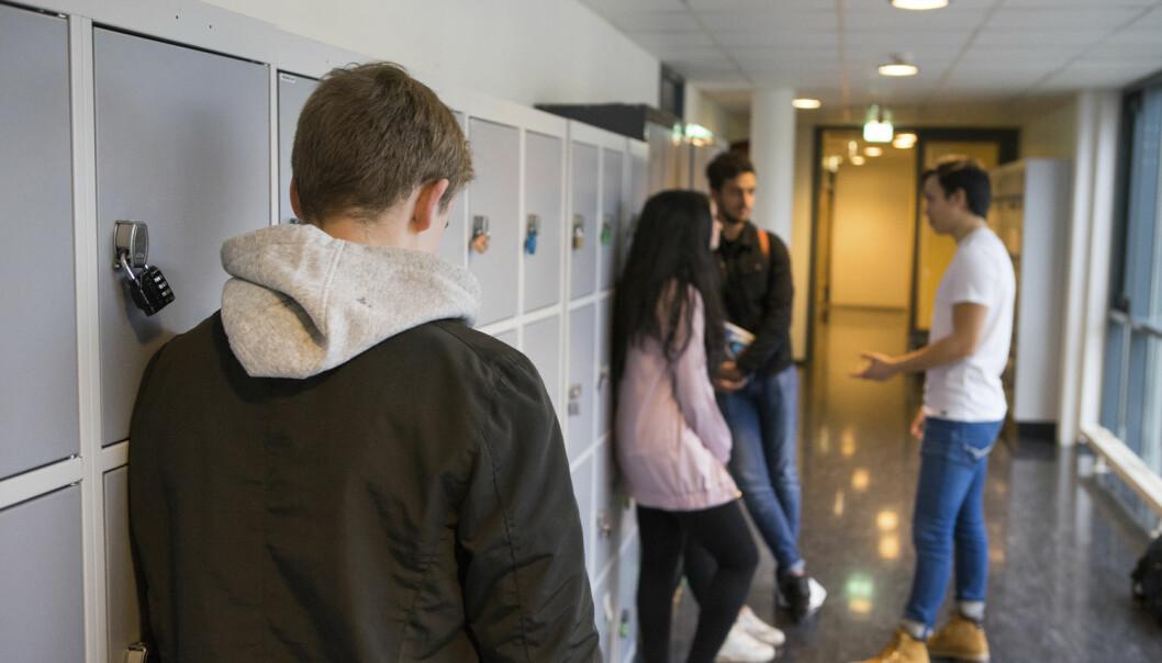 Psykologer har forsket på ikke-fysiske former for seksuell trakassering blant jevnaldrende unge. Det viser seg at den vanligste formen for seksuell trakassering er gutter som trakasserer andre gutter. (Foto: Thomas Brun / NTB scanpix)