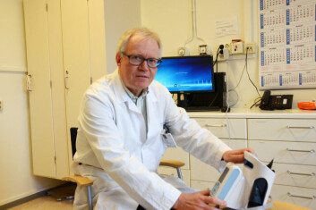 Svein Dueland er gruppeleder for Eksperimentell transplantasjon for kreft, Utprøvende enhet, avdeling for kreftbehandling, OUS. (Foto: Margrethe Falch)