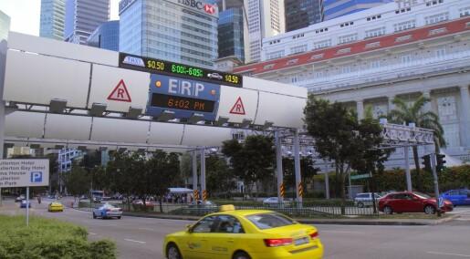 Færre ulykker med gule taxier