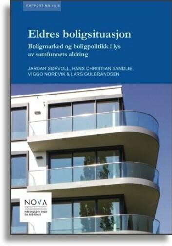 Rapporten «Eldres boligsituasjon» er et resultat av arbeid ved Velferdsforskningsinstituttet NOVA på Høgskolen i Oslo og Akershus.
