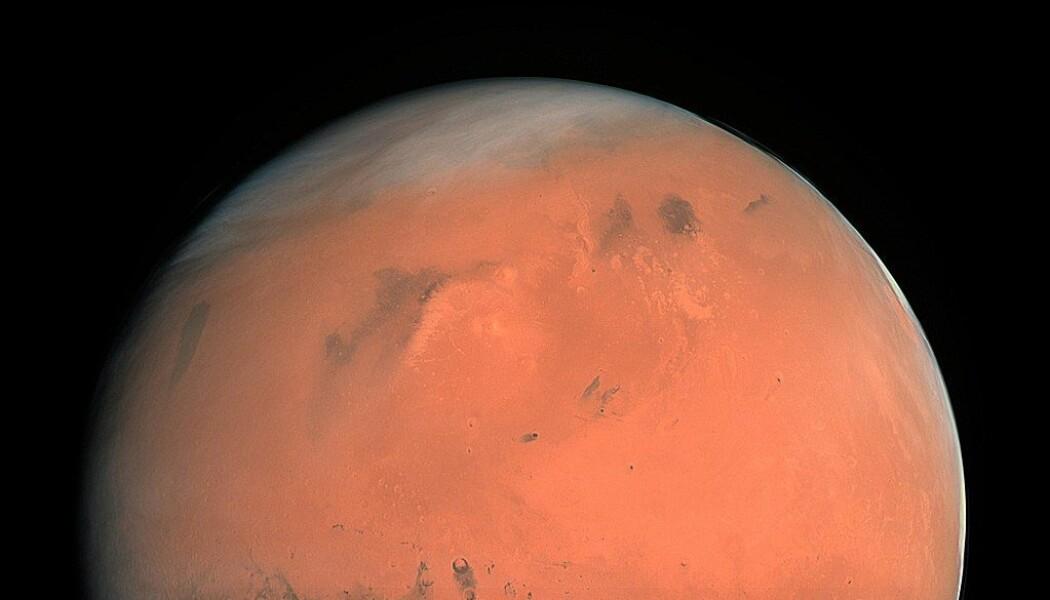 Den røde planten, sett med kameraet på Rosetta. Vil planeten bare forbli en fjern drøm for selskapet Mars One? (Bilde: ESA)