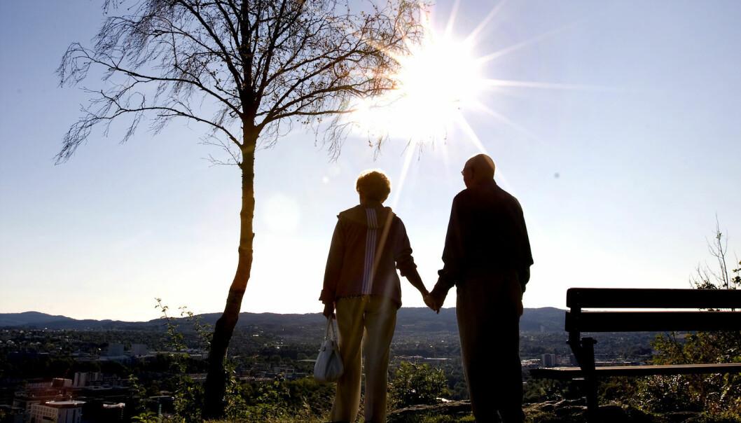Går vi 100 år tilbake i tiden var forventet levealder rundt 25 år lavere enn i dag. (Illustrasjonsfoto: Foto: Gorm Kallestad, NTB scanpix)