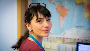 Lucilla Giulietti er stipendiat ved Havforskingsinstituttet. (Foto: HI)