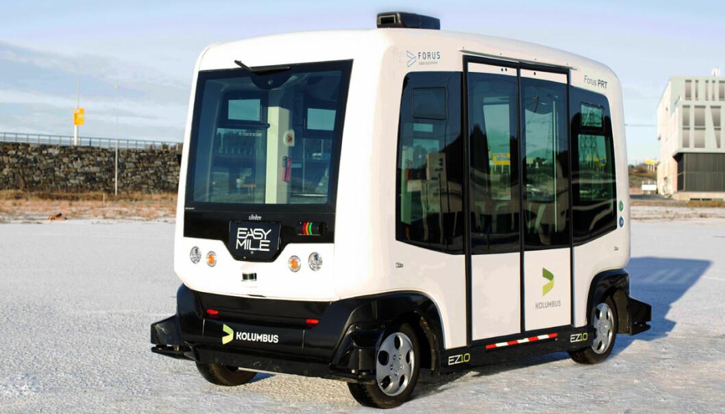 Snart kommer de selvkjørende bussene