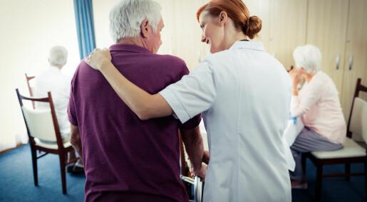 Debattinnlegg: Hvor er mannfolka i sykepleien?