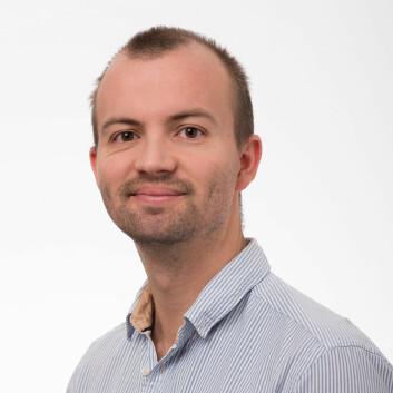 Anders Farholm er stipendiat ved Norges idrettshøgskole. (Foto: NIH)