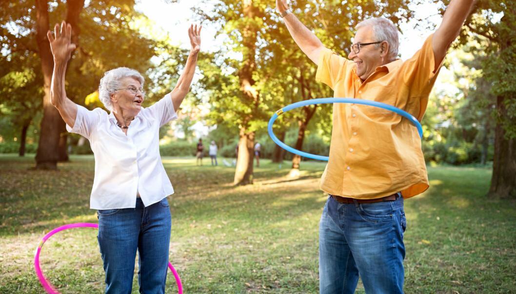 Etter fylte 50, ser forskerne en skarp stigning i lykke. Toppen når man først når man har blitt 70 år. (Foto: Shutterstock / NTB scanpix)
