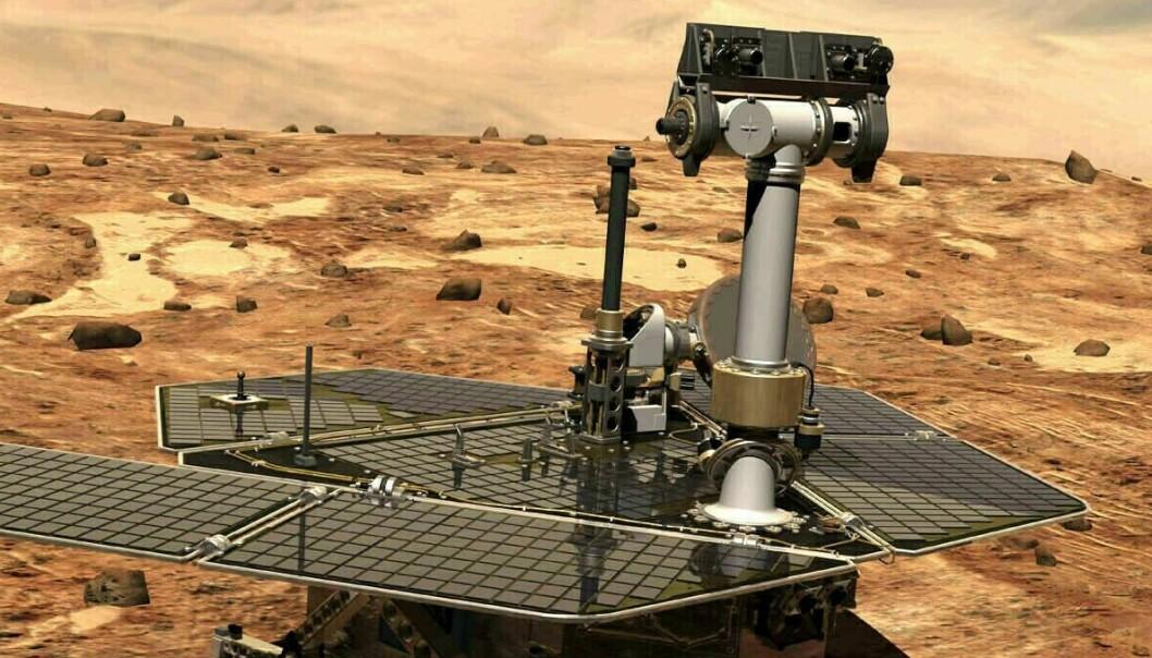 Romfarkost «død» etter 14 års oppdrag på Mars