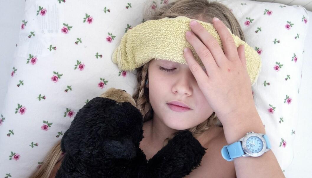 Stadig flere blir slått ut av influensa. (Illustrasjonsfoto: Gorm Kallestad / NTB scanpix)