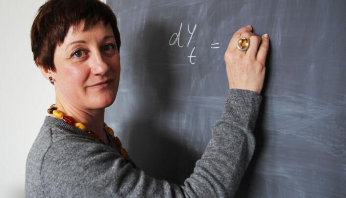 Giulia Di Nunno er én av tre kvinnelige professorer på matematisk institutt ved Universitetet i Oslo.