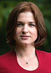 Julia Katarzyna Leikvoll er doktorgradsstipendiat ved Universitetet i Stavanger. (Foto: Aleksandra Habior)
