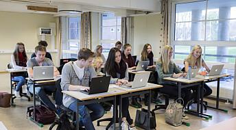 Læring på nett kan være vanskelig for elever med dysleksi