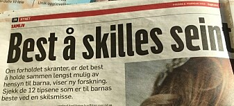 Faksimile av Dagbladet 9. februar 2019