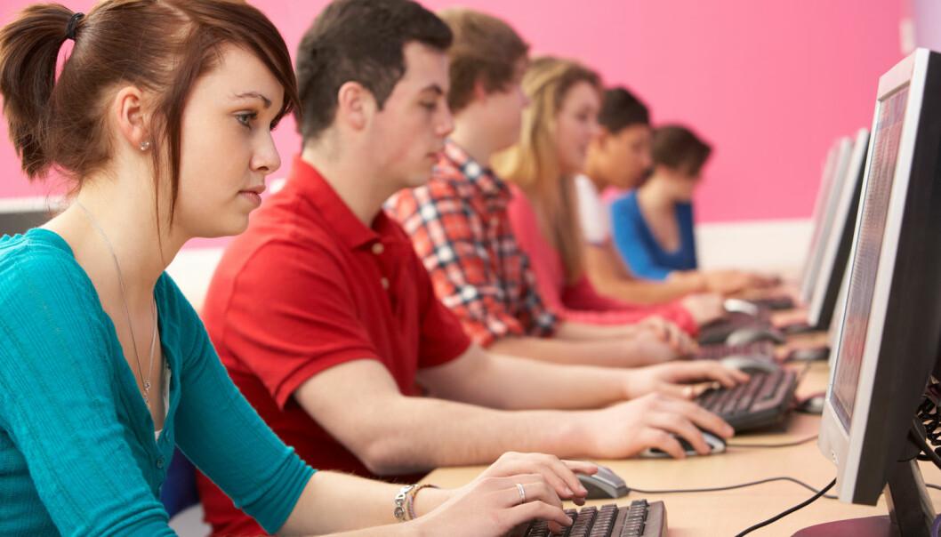Forskere fra Universitetet i Oslo skal teste tilpasningsevnen til 1500 elever i 8. til 10.klasse. (Foto: Shutterstock / NTB scanpix)