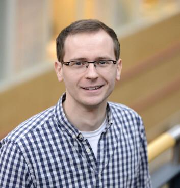 Ronny Scherer er postdoktor ved Universitetet i Oslo. (Foto: Shane Colvin/Universitetet i Oslo)