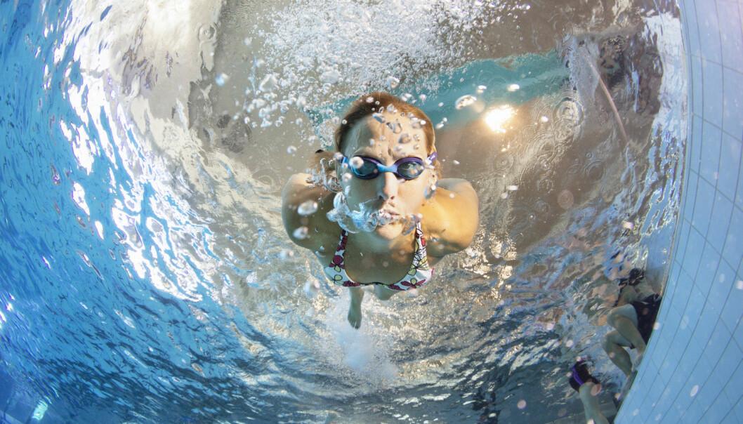 Søtstoff kan avsløre tiss i svømmebassenget