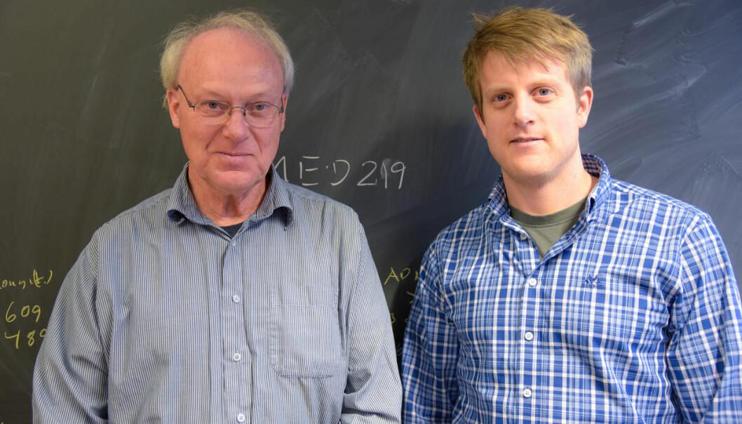 Far og sønn Lundervold sørger for at studenter får mer kunnskap om hva maskinlæring kan bety for helsefagene. (Foto: Ingrid Hagerup)