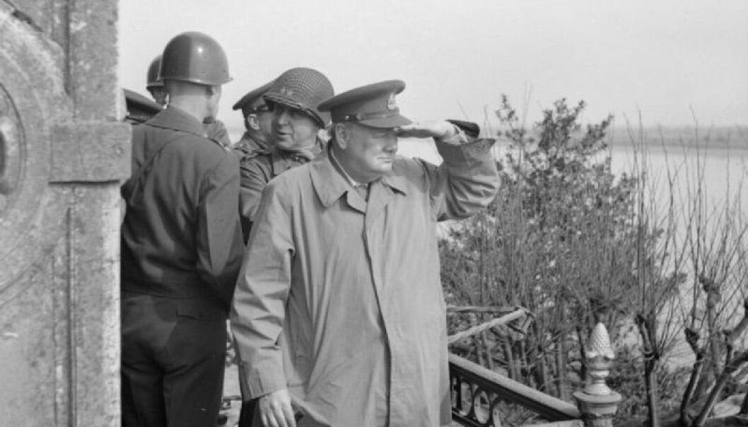 I et nyoppdaget essay fra 1939 skriver Winston Churchill om astronomi og liv i verdensrommet på et imponerende nivå, mener to forskere.  (Foto: Imperial War Museums)