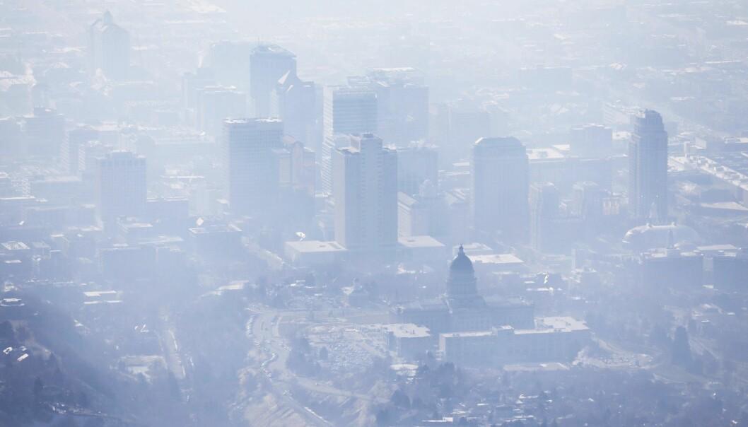 Smog i Salt Lake City. Metangassnivået i atmosfæren øker, og forskerne vet ennå ikke med sikkerhet hvorfor. (Foto: AP / NTB scanpix)