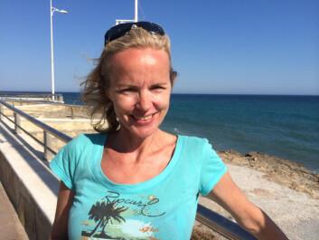 - Alle vertene vi har leid av, har hatt bilde, og alle har vært blide, sier Svanhild Blakstad som har leid feriebolig gjennom Airbnb i Kroatia de siste somrene. (Foto: privat)