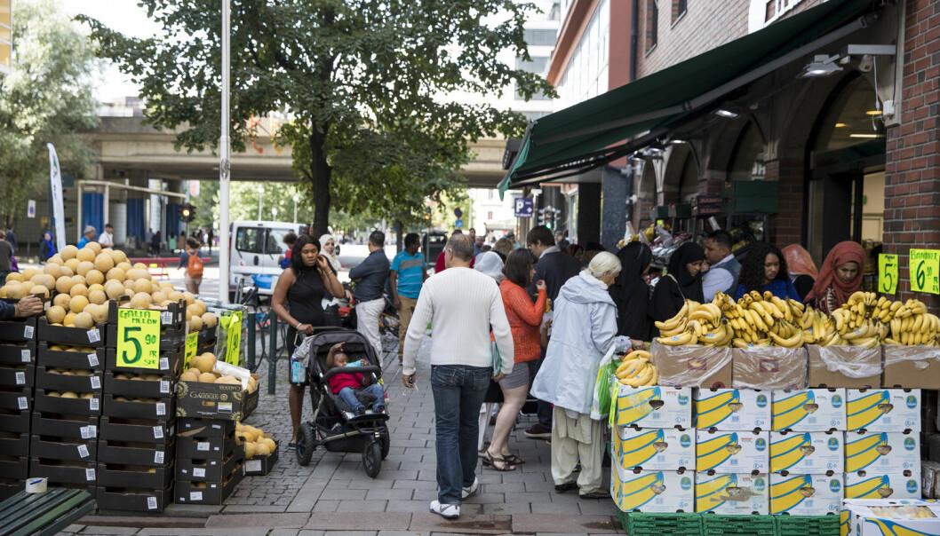 - Berekraftig byutvikling fordrar at vi finn gode måtar å leve med forskjellar på, utan at det skapast større sosial og økonomisk ulikheit, skriv kronikkforfattarane.  (Foto: Tore Meek / NTB scanpix)