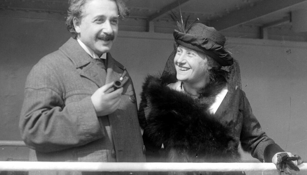 Albert Einstein introduserte motvillig den kosmologiske konstanten. Fortsatt er den ikke spesielt godt likt blant forskere, men det er heller ikke helt enkelt å bli kvitt den.  (Foto: Library of Congress, Prints & Photographs division, ID 32096)