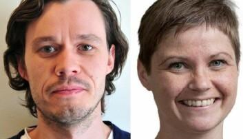 Are Skeie Hermansen og Hilde Nesse Tyssøy. (Foto: CAS)