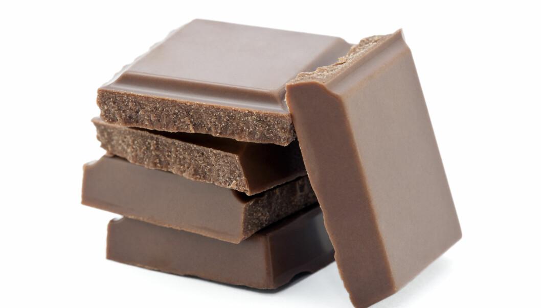 Sjokolade er det beste mange vet. Men kineserne er ikke like begeistret. De spiser mye mindre sjokolade enn det vi gjør her i landet (Foto: Colourbox).