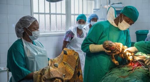 Sierra Leone: Her utføres keisersnitt like trygt uten leger