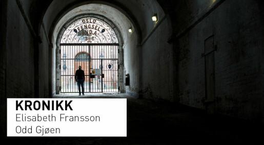 Hvordan kan kirken i fengsel markere at soningen er over?