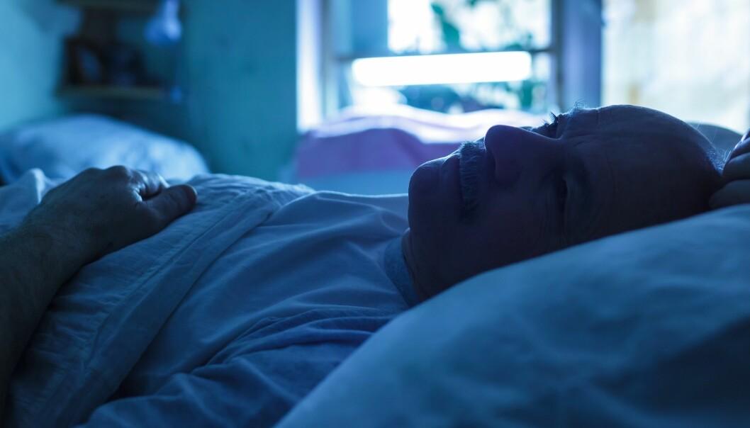 – Det er for lite hjelp å få i det offentlige. Mange får sovetabletter, men det er ingen god løsning i lengden, sier forskeren bak den nye studien. (Illustrasjonsbilde: Koldunov / Shutterstock / NTB scanpix)