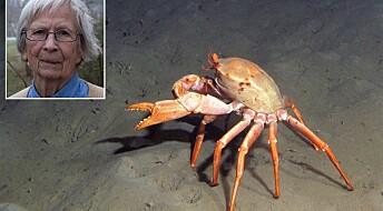 Hedrer 90-åring med krabbenavn